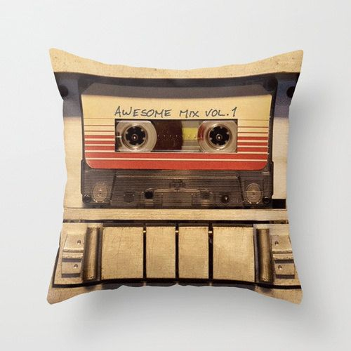 A Guardians of the Galaxy pillow with an up to date style that is perfect for any room in our house! Throw Pillow Cover made from 100% spun