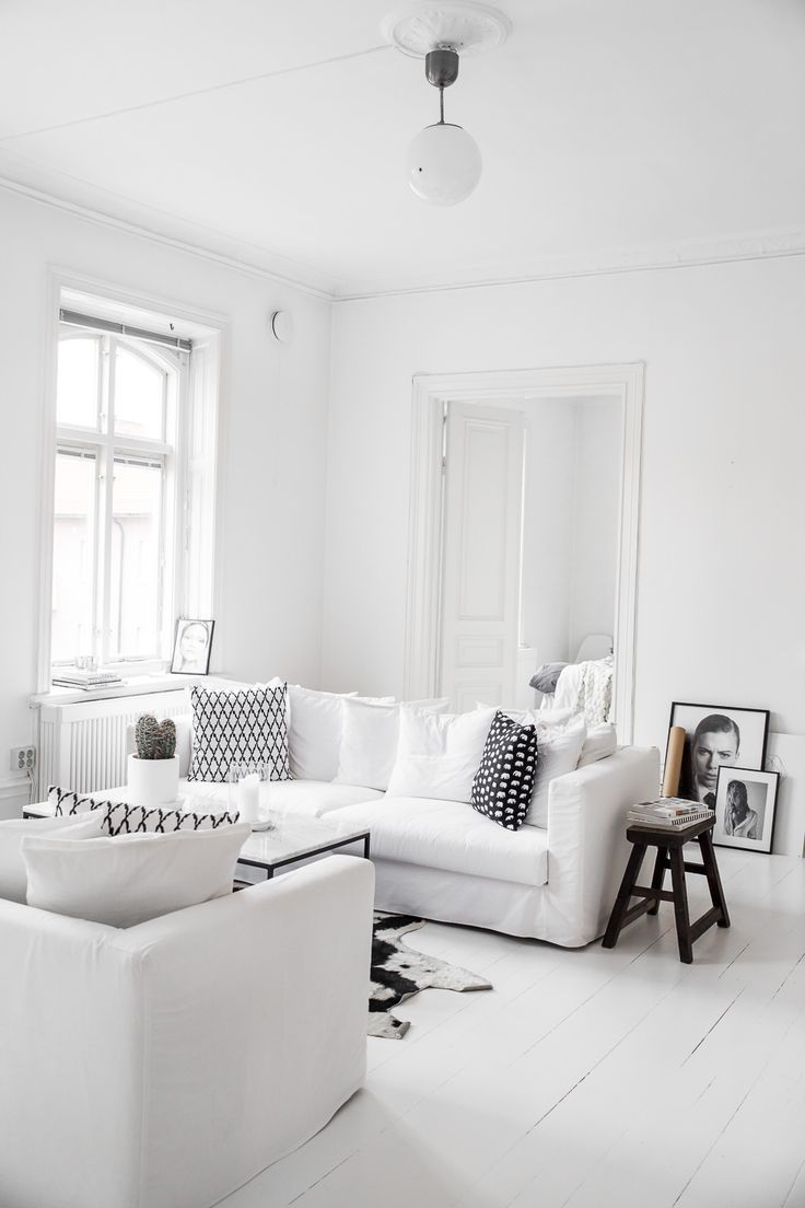 Monochrome Living Room Decorating 700 Best Images About Livingroom On Pinterest White Interiors