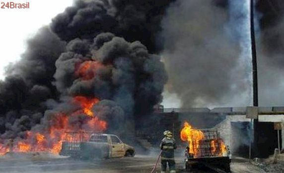 Explosão em depósito de fogos de artifício deixa pelo menos 14 mortos no México