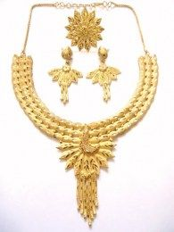 Awesome All New Designed Traditional Look Necklace Set Perfect For Wedding Attires