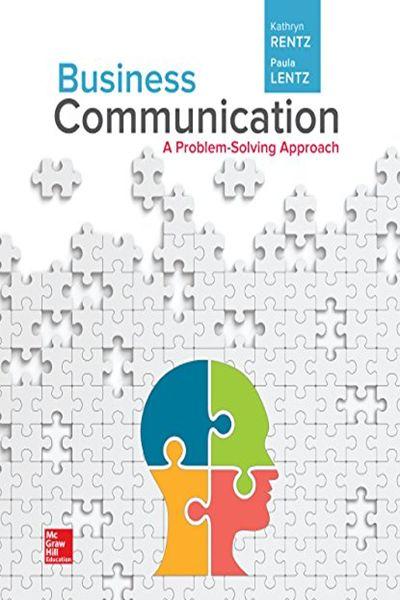 2017  Business Communication  A Problem