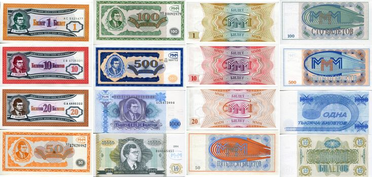 In the picture you can see Russian currency called ruble accumulated for over 400 years. The GDP Per Capita of Russia is $24,800 compared to the U.S. which is $54,600. The currency of Russia is very different from the U.S.,  1 Russian dollar, called a 'Ruble' is worth $0.016 in USD. ECONOMY