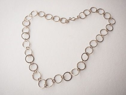 Hand Forged Sterling Chain