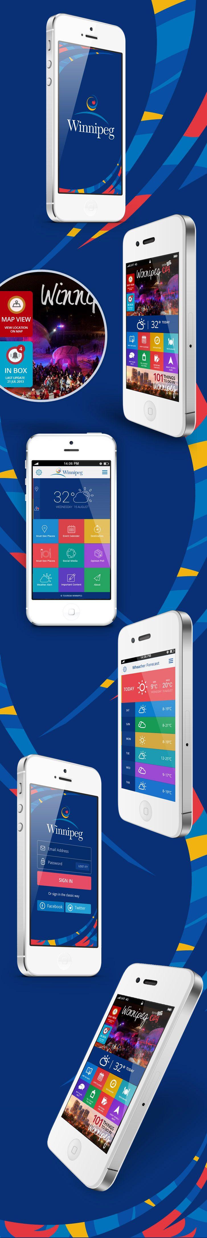 Winnipeg mobile app design