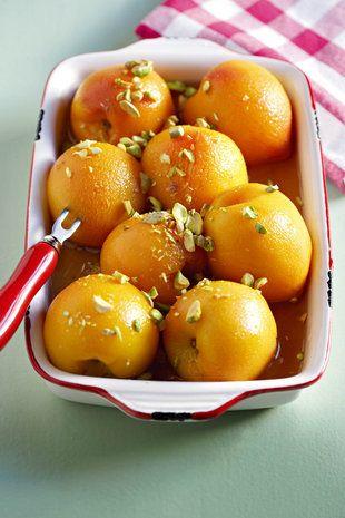 Perskes-in-vanieljestroop | SARIE | Peaches in vanilla syrup