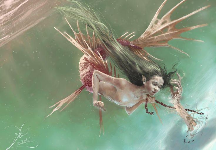 Mermaid by Divedog on DeviantArt