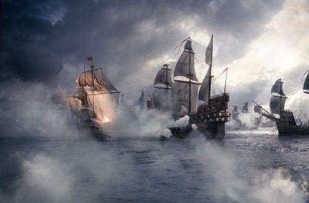 Британские острова охранял самый сильный в мире английский флот