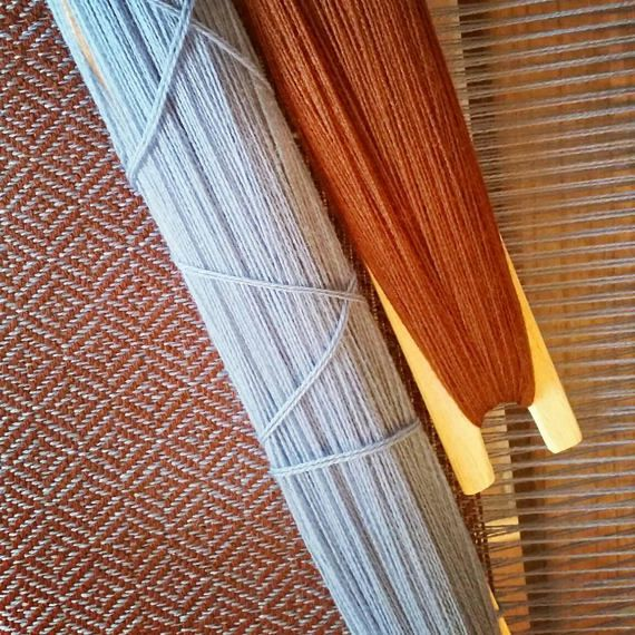 Handwoven medieval shawl viking shawl broken diamond twill