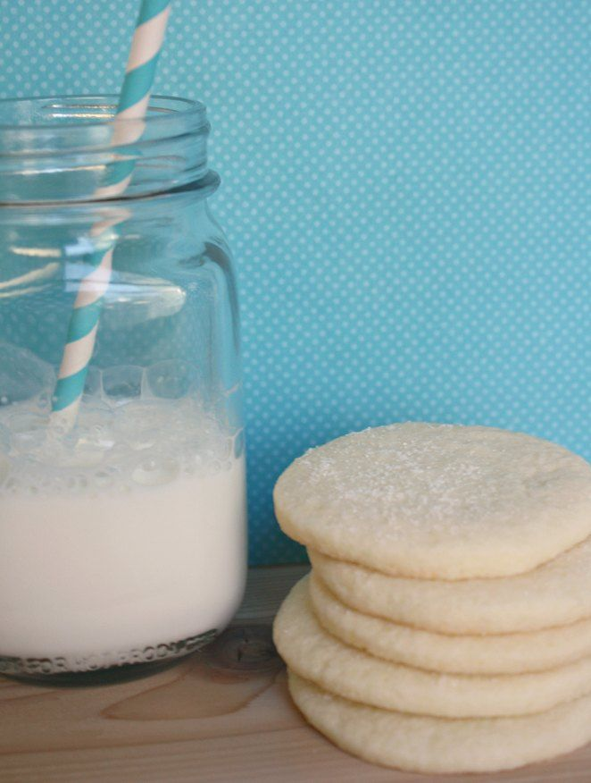 Easy Gluten Free Sugar Cookie recipe- can be made plain or rolled out into fun shapes and frosted!