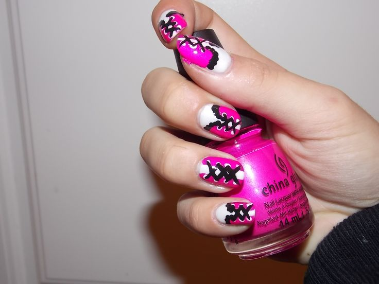 Inspriation from @MissJenFABULOUS  she is awesome!!! #nailart #nail