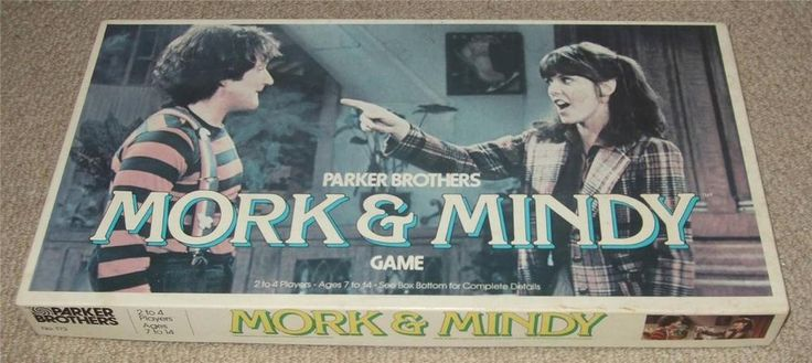 1979 MORK & MINDY BOARD GAME - PARKER BROTHERS - ROBIN WILLIAMS