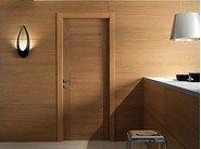 Porta de batente de madeira maciça PANGEA | Porta de carvalho by GAROFOLI