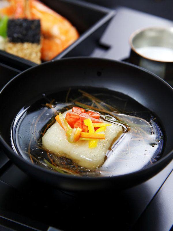 揚げ餅のお雑煮 お正月 wasyoku 和食 Japanese food
