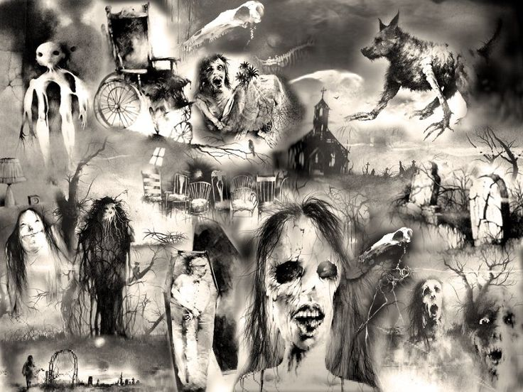 Scary Stories to Tell in the Dark  I was so obsessed with these books as a child