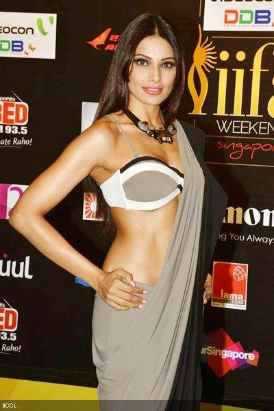 Bipasha Basu arrives for 'IIFA Rocks' during International Indian Film Academy Awards 'IIFA Rocks' show in Singapore, 2012