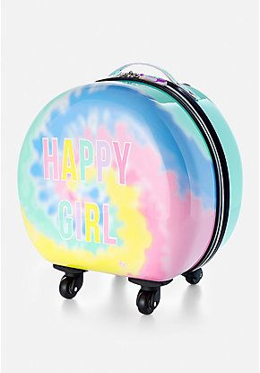 3533d34e386601 Happy Girl Hard Shell Suitcase | Justice new do in 2019 | Girls luggage,  Bags, Mini backpack purse