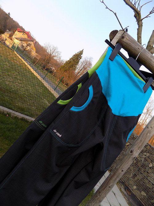 Softshellové kalhoty pro aktivní těhulky