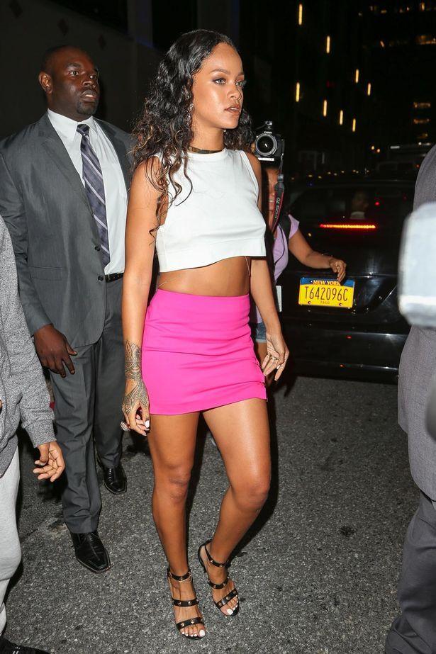 Rihanna her arkadaşına bir isim takmaya bayılıyor!