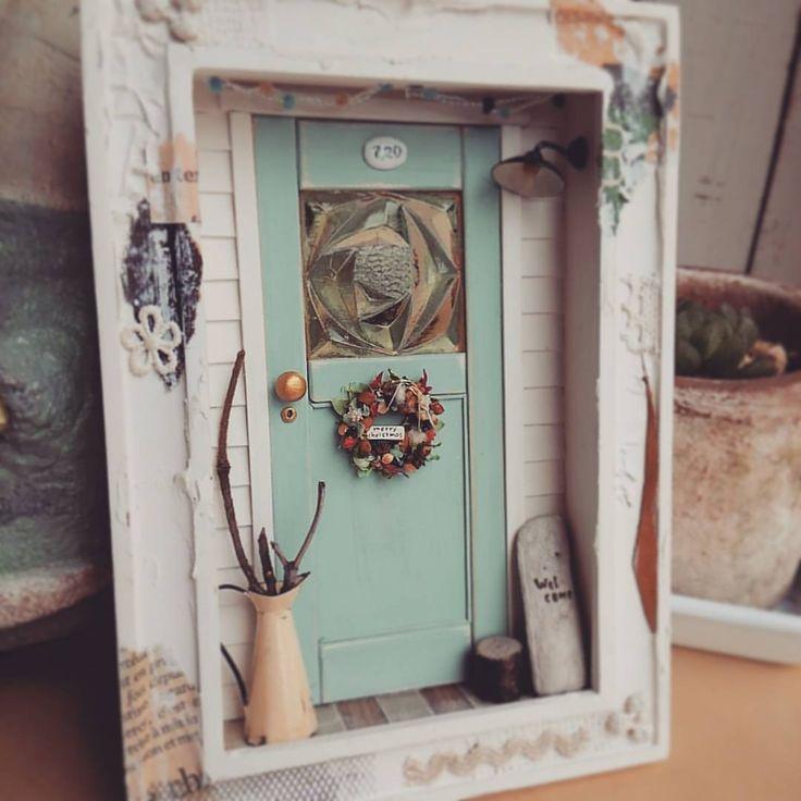 kiki さんに納品の分、全部出来上がりました! これと、マフィンのん4個と。 kiki さんでは展示もさせていただけるので、ドールハウス2~3個も持っていきます🎵 #miniature #dollhouse #ミニチュア#ドールハウス#littledaisy #ミニチュアドア #kikisstar