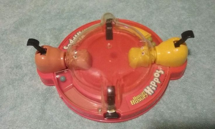 Vintage 1995 Travel Size HUNGRY HUNGRY HIPPOS Game by Milton Bradley #MiltonBradley