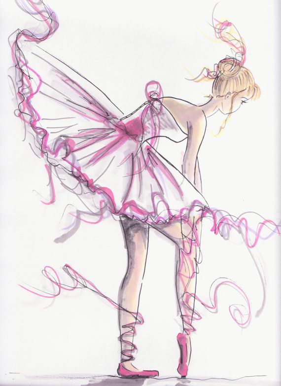 Ballerina Untied In Pink- I think I would like to do my 1st girl's room in ballerina and have this as wall decor