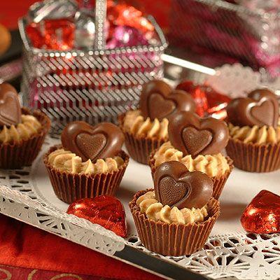 Peanut Butter Heart Cups