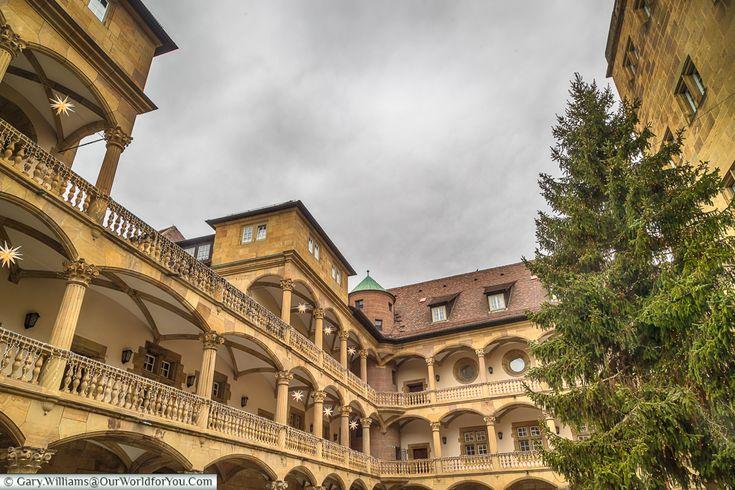 The courtyard of the Alten Schloss, Stuttgart, Germany