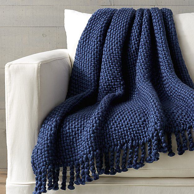 Cozy Weave Blue Throw Blue Throw Blanket Navy Blue Throw Blue Bed Throw