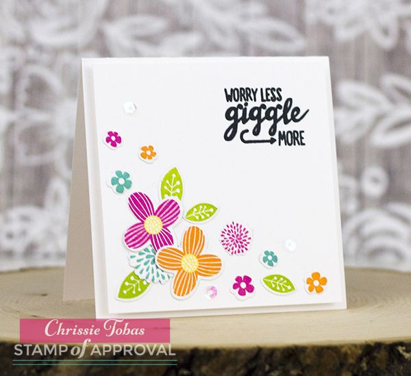 Chrissie Tobas of Harvest Moon Papiere: The Perfect Reason Stamp of Approval Blog Hop Day 3 @catherinepooler #catherinepoolerdesigns #stampofapproval #stamping