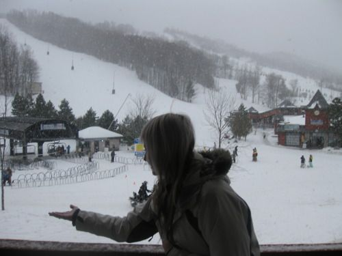 Snow at Blue Mountain