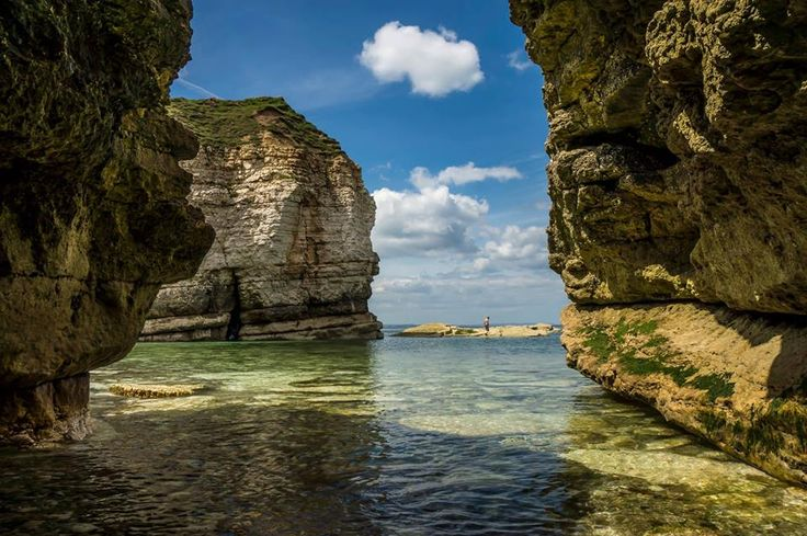 Thornwick Bay, near Flamborough on the East coast of Yorkshire