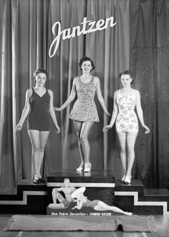Jantzen bathing costumes c. 1940