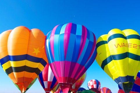 hot air balloon fiesta california | この間「奇跡のリンゴ」を読み、「夢を持つ」こと ...