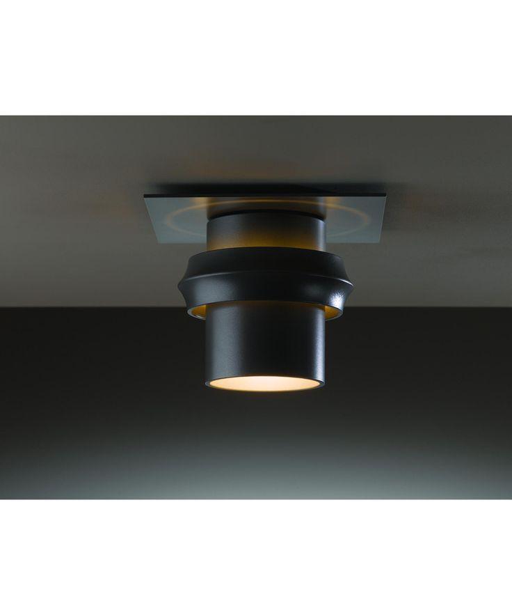 """Twilight 9"""" LED 1 Light Outdoor Flush Mount in Burnished Steel: 1 Light Outdoor Flush Mount in Burnished Steel"""