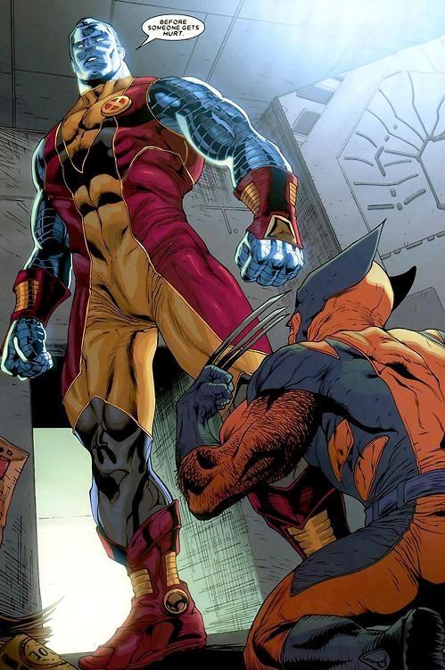 Colossus & Wolverine