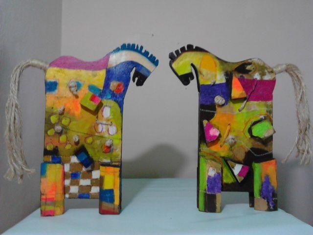 caballo de palo ruano serie 2