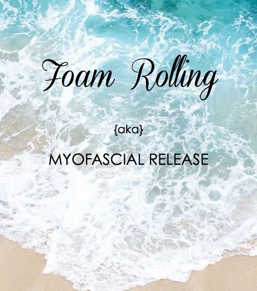 Foam Rolling: A Deep Tissue Massage. A must to release adhesions in the muscles. Great to reduce soreness. beachbabefitness.com