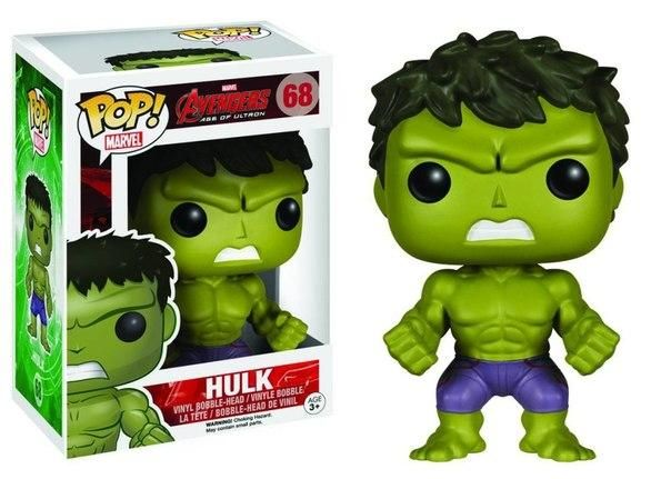 Figurine Pop Hulk Avengers : L'Ère d'Ultron - N°68 @ReferenceGaming
