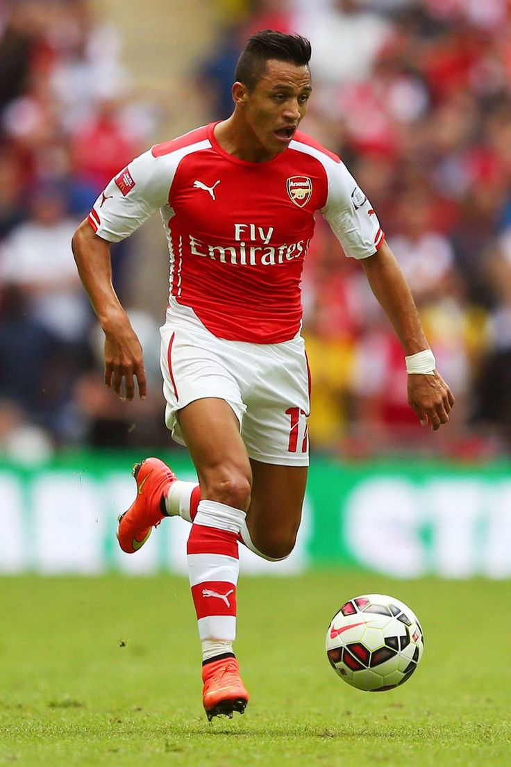Alexis Sanchez of Arsenal FC