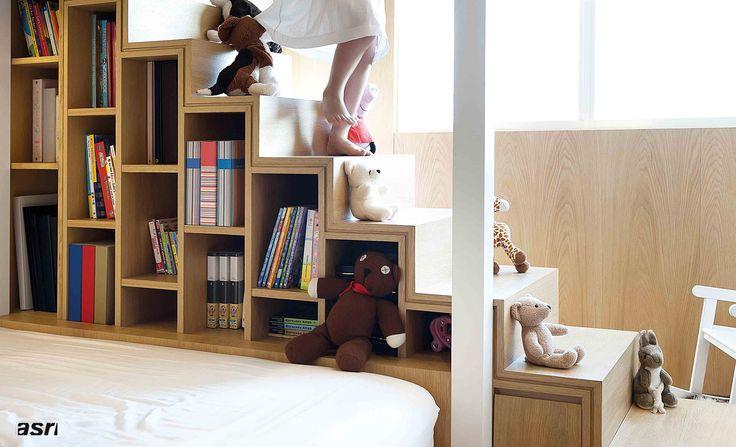 mezzanine kamar anak