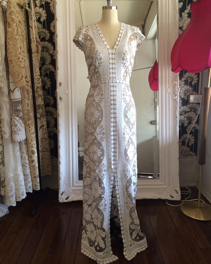 Vintage Lace Wedding Gowns Sydney : Best images about vintage bohemian lace wedding dresses
