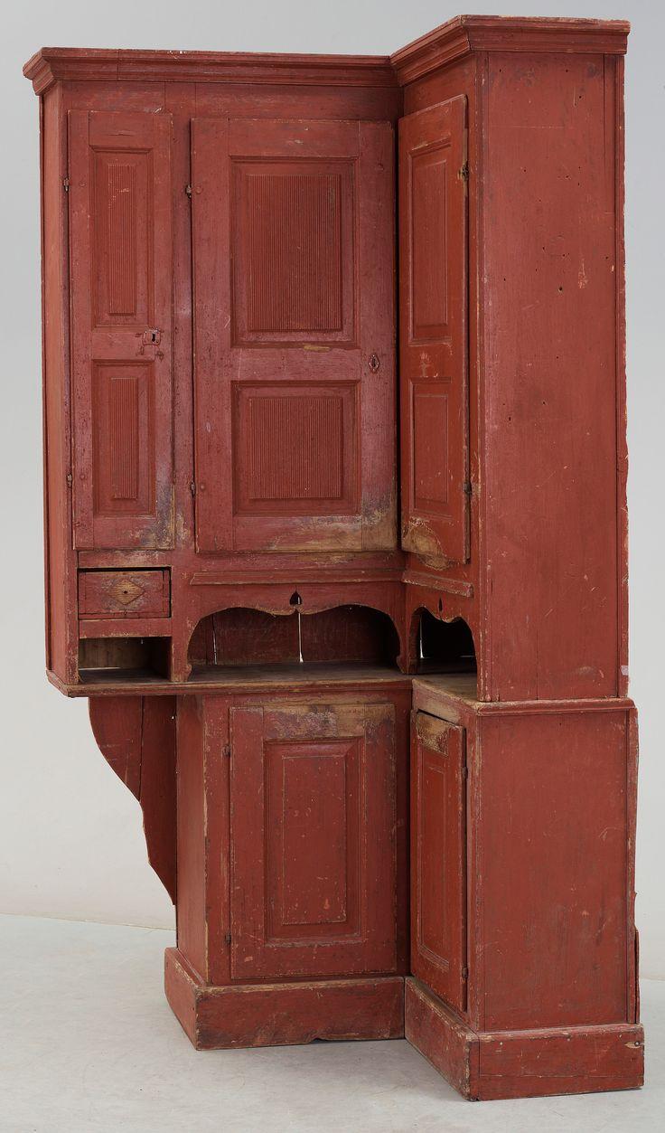Primitive furniture - Kitchen Cabinets Gustavian Early 1800s Primitive Cabinetsprimitive Furniturecountry
