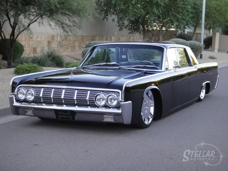 1964 lincoln continental custom cars pinterest. Black Bedroom Furniture Sets. Home Design Ideas