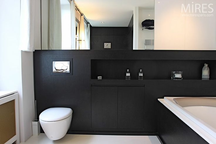 44 best images about salle de bain studio on pinterest coins un and totems. Black Bedroom Furniture Sets. Home Design Ideas