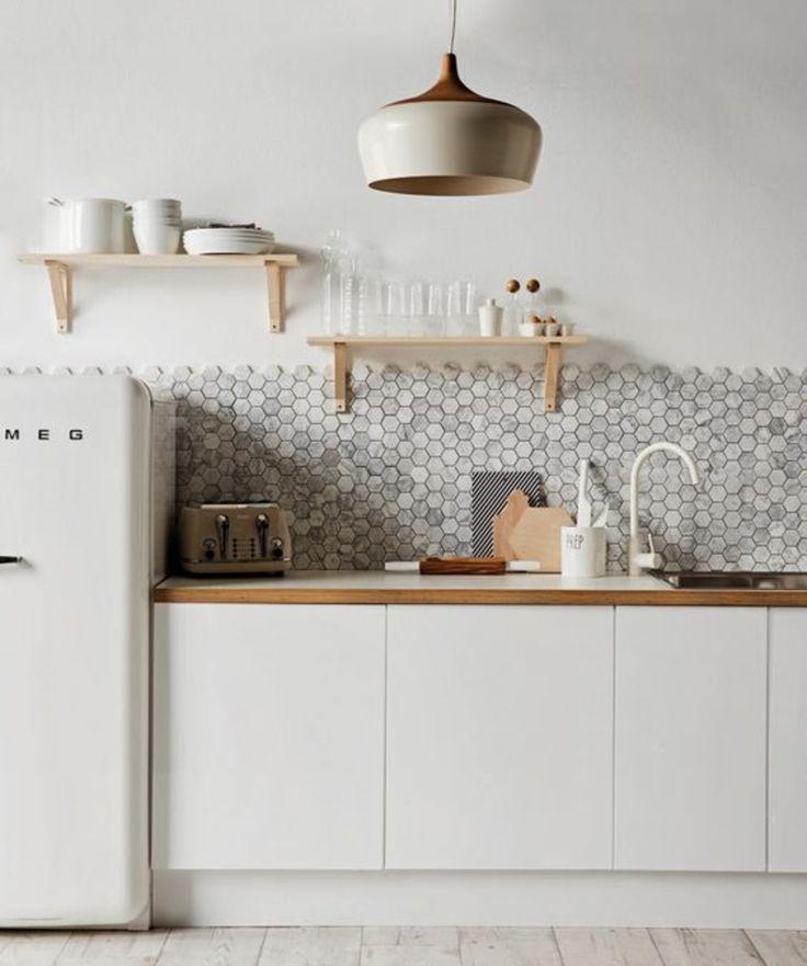 Einrichtungsbeispiele Küchenideen Retro Kühlschrank smeg