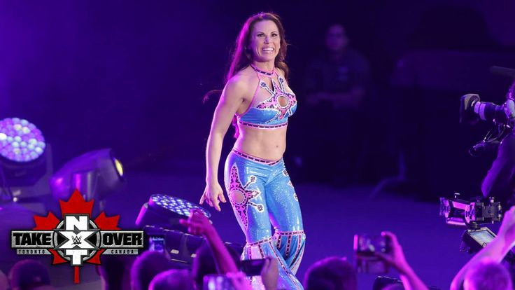 She's baaaack! Mickie James is HERE and ready to face WWE NXT Women's Champion Asuka at NXT TakeOver: Toronto on WWE Network!