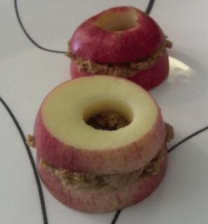 P3 Apple Peanut Butter Sandwich | HCG P3 & Low Carb Recipes | Pintere ...
