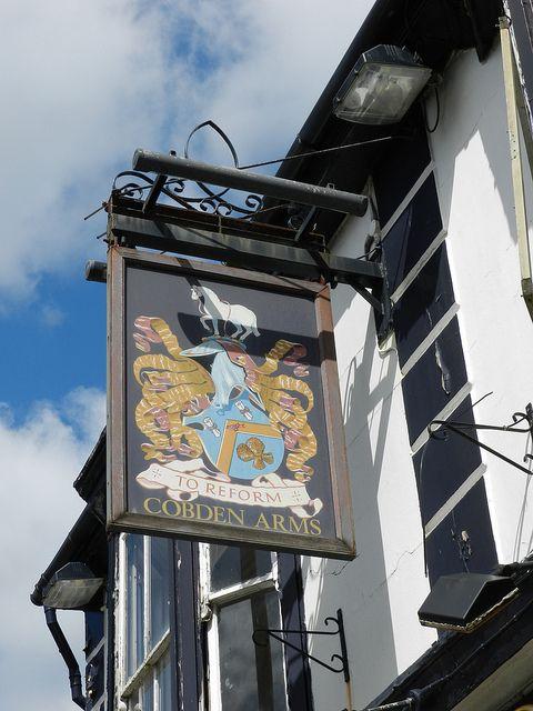 'Cobden Arms' Pub Sign - Havant