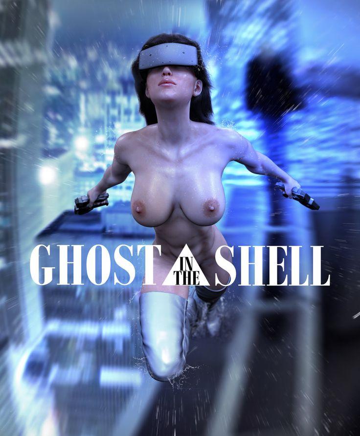Ghost in the Shell, Artem Korzhov on ArtStation at https://www.artstation.com/artwork/ghost-in-the-shell-50502659-b2f5-4e71-9cde-bfe0e651252c