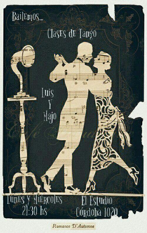 Clases de Tango  Lunes y Miércoles 21:30 hs.  El Estudio - Córdoba 1020  #LuisyMajoTango
